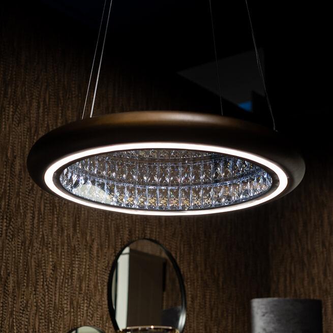 Richmond Hanglamp 'Dani' kleur Brons