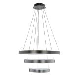 Richmond Hanglamp 'Jenna', 3-lamps, kleur Zilver