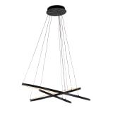 Richmond Hanglamp 'Amira', Aluminium, kleur Zwart