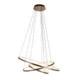Richmond Hanglamp 'Amira', Aluminium, kleur Goud