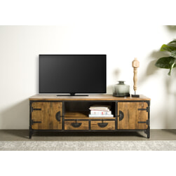 Tower Living TV-meubel 'Basto', 180cm, Mangohout
