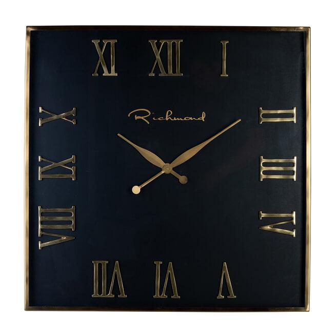 Richmond Klok 'Derial',  76 x 76xm, kleur Goud