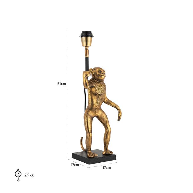 Richmond Tafellamp 'Avan' kleur Goud