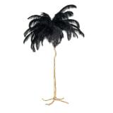 Richmond Vloerlamp 'Burlesque' 175cm, kleur Zwart