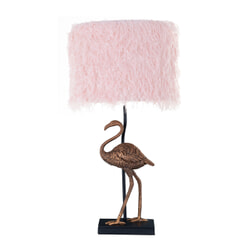 Richmond Tafellamp 'Faido', 61cm, kleur Roze