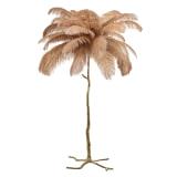 Richmond Vloerlamp 'Burlesque' 175cm, kleur Khaki