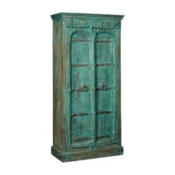 RENEW Opbergkast 'Marina' kleur Turquoise