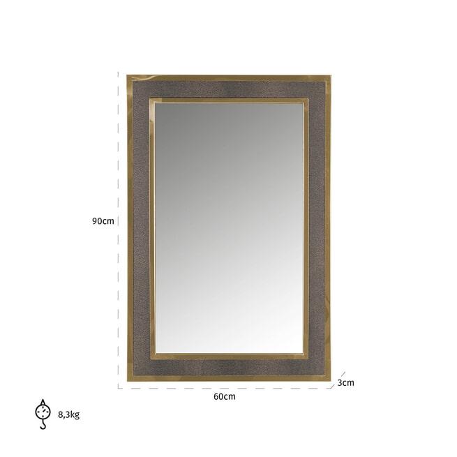 Richmond Spiegel 'Bara' 90 x 60cm