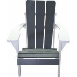 SenS-Line Loungestoel 'Montreal' kleur Grijs/Wit