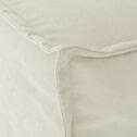 Kave Home Slaapbank 'Lyanna' 140cm, kleur Wit