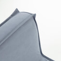 Kave Home Slaapbank 'Lyanna' 90cm, kleur Blauw
