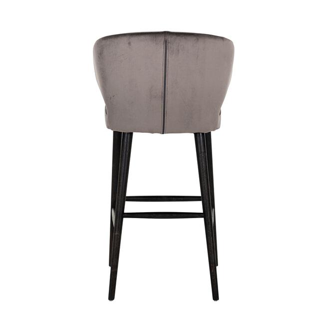 Richmond Barstoel 'Indigo' Velvet (zithoogte 78cm)