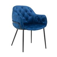 Richmond Eetkamerstoel 'Nomi' Velvet, kleur Blauw