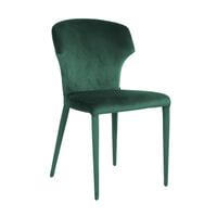 Richmond Eetkamerstoel 'Piper' Velvet kleur Groen