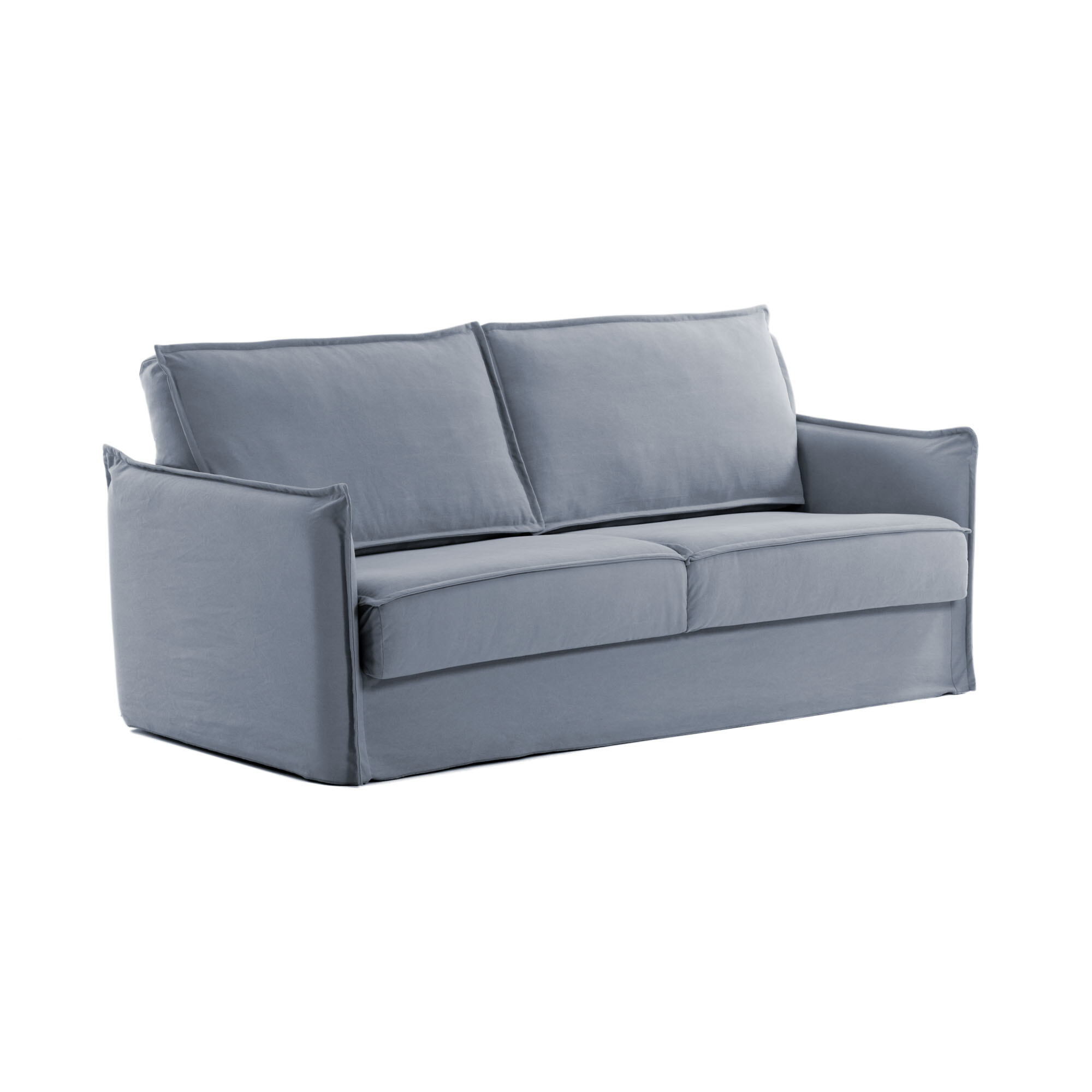 Op Design & Trends: Alles voor de inrichting van uw woning is alles over gadgets te vinden: waaronder meubelpartner en specifiek Kave Home Slaapbank Samsa Polyurethaan, 140cm, kleur Blauw