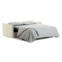 Kave Home Slaapbank 'Samsa' Polyurethaan, 160cm, kleur Wit