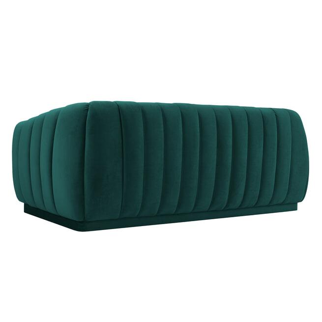 Richmond Bank 'Lorena' 3-zits, velvet, kleur Groen