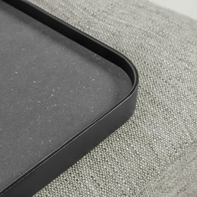 Kave Home 3-zits Bank 'Compo' Met Blad, kleur Beige