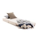 Kave Home Poef/Vouwbed 'Lizzie', kleur Wit