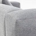 Kave Home Loungebank 'Blok' Links, kleur Lichtgrijs