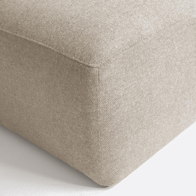 Kave Home Loungebank 'Blok' Links, 300cm