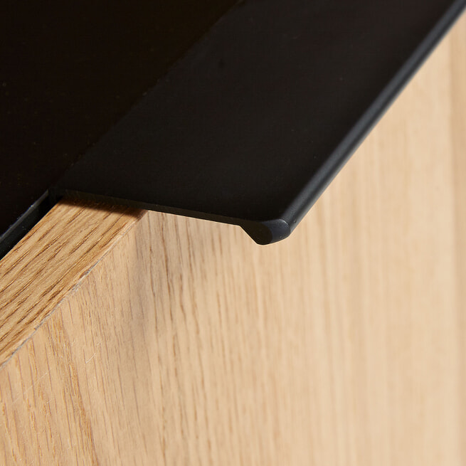 Kave Home TV-meubel 'Savoi' kleur Zwart