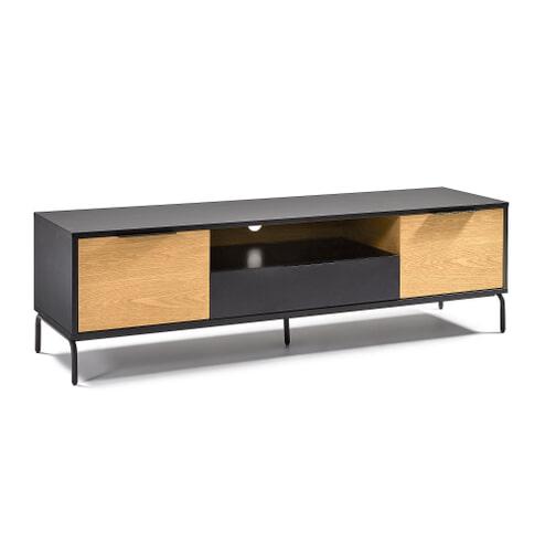 Kave Home TV-meubel 'Savoi' 170cm, kleur Zwart