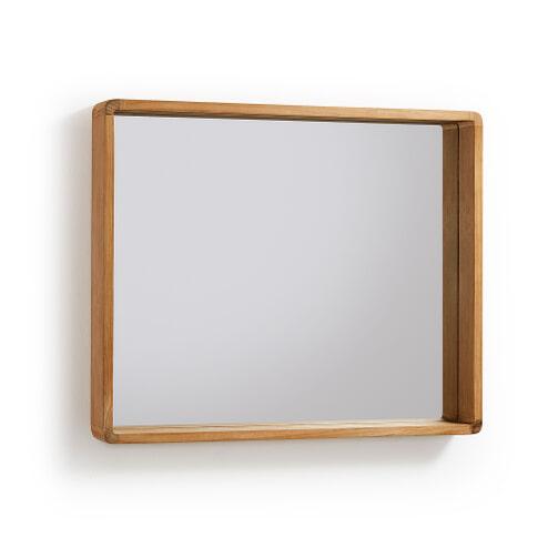 Kave Home Spiegel 'Kuveni' 65 x 80cm, kleur Teak