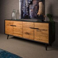 Tower Living Dressoir 'Bresso' Eiken, 200 cm