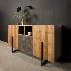 Tower Living Dressoir 'Ora' Gerecycled teak, 167 cm