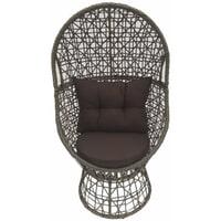 SenS-Line Loungestoel 'Daisy' kleur Taupe