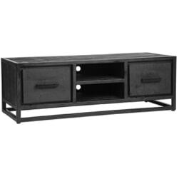 LABEL51 TV-meubel 'Chili' Zwart Mangohout