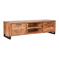 LABEL51 Tv-meubel 'Glasgow', Mangohout, 160 x 45 x 45cm
