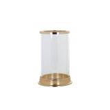Richmond Windlicht 'Addison' 19cm, kleur goud