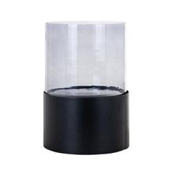 Richmond Windlicht 'Astor' 30cm, kleur Zwart