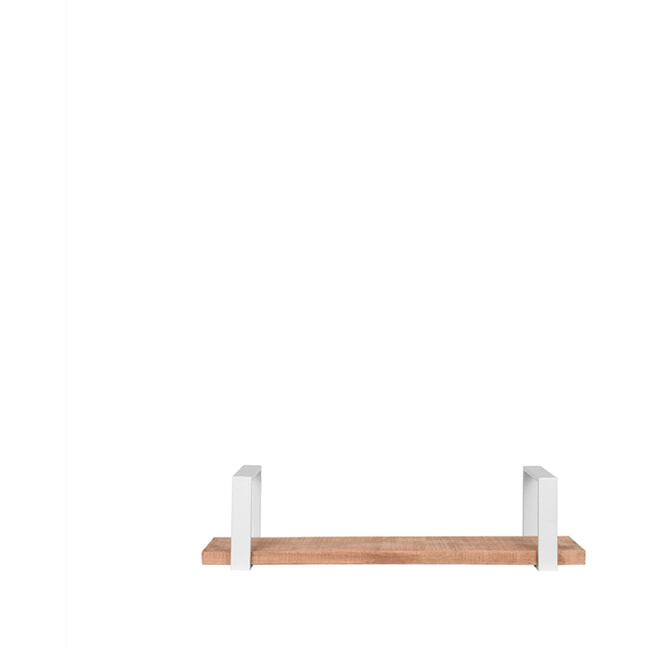 LABEL51 Wandplank 'Slam' kleur Wit