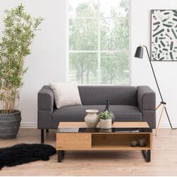 Bendt Salontafel 'Aino' Met verhoging, 110 x 60cm