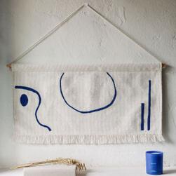 Kave Home Wandkleed 'Atal' 70 x 28cm