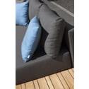 Loungeset 'Paradiso Teak' Weerbestendig Nanotex, kleur stone grey