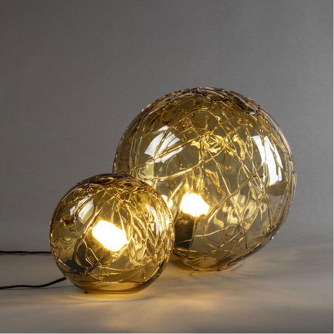 Dutchbone Tafellamp 'Lune' 25cm