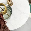 Kave Home Bijzettafel 'Bryson B', kleur wit marmer
