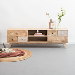 Kave Home Tv-meubel 'Hoob' 160cm (Showroommodel)