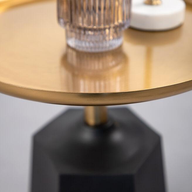 Kave Home Bijzettafel 'Plamp' kleur Goud