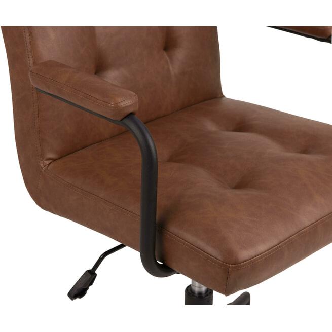 Bendt Bureaustoel 'Lennix' met armleuning
