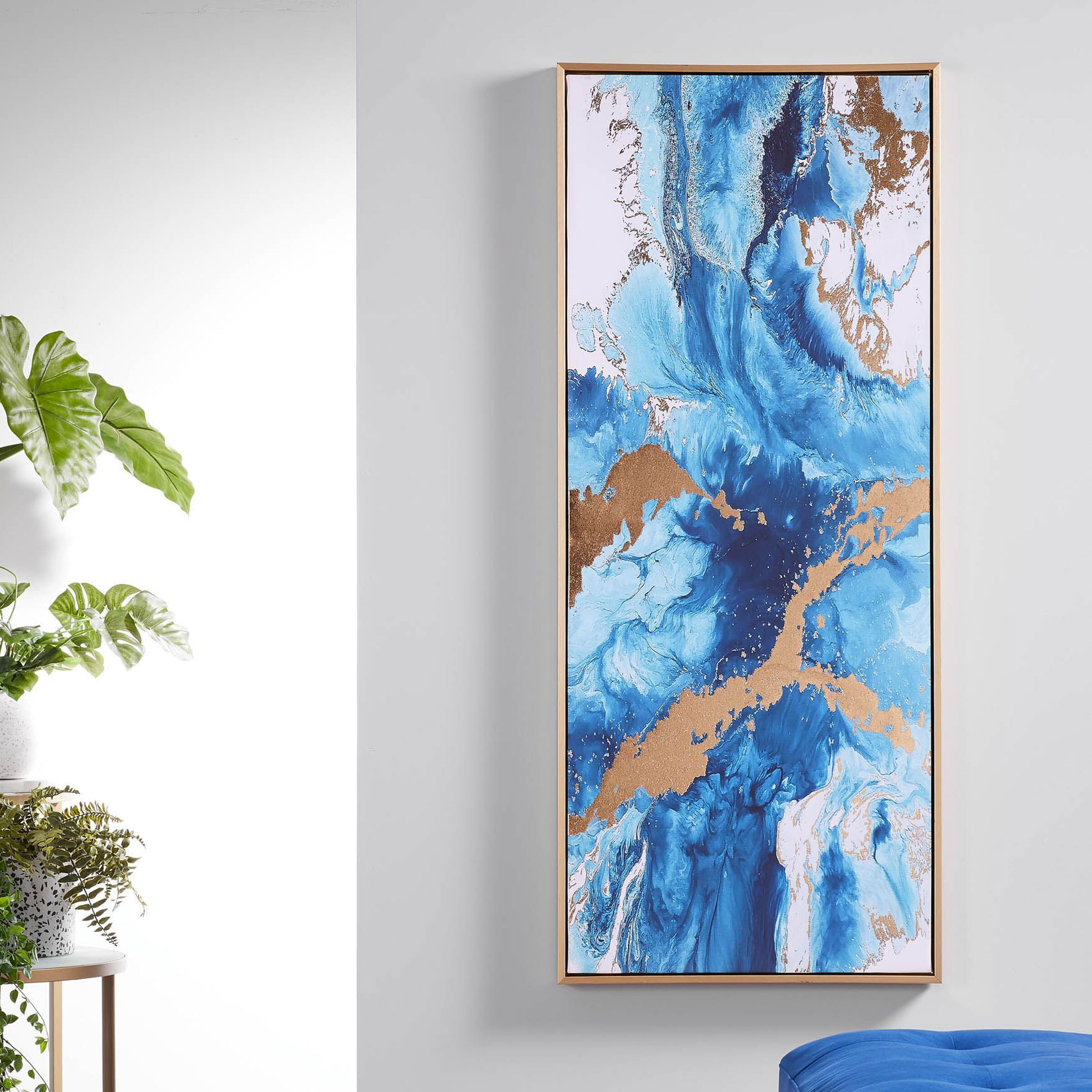 Kave Home Schilderij 'Iconic' 120 x 50cm