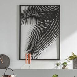 Kave Home Wandpaneel 'Dimpia', kleur Zwart