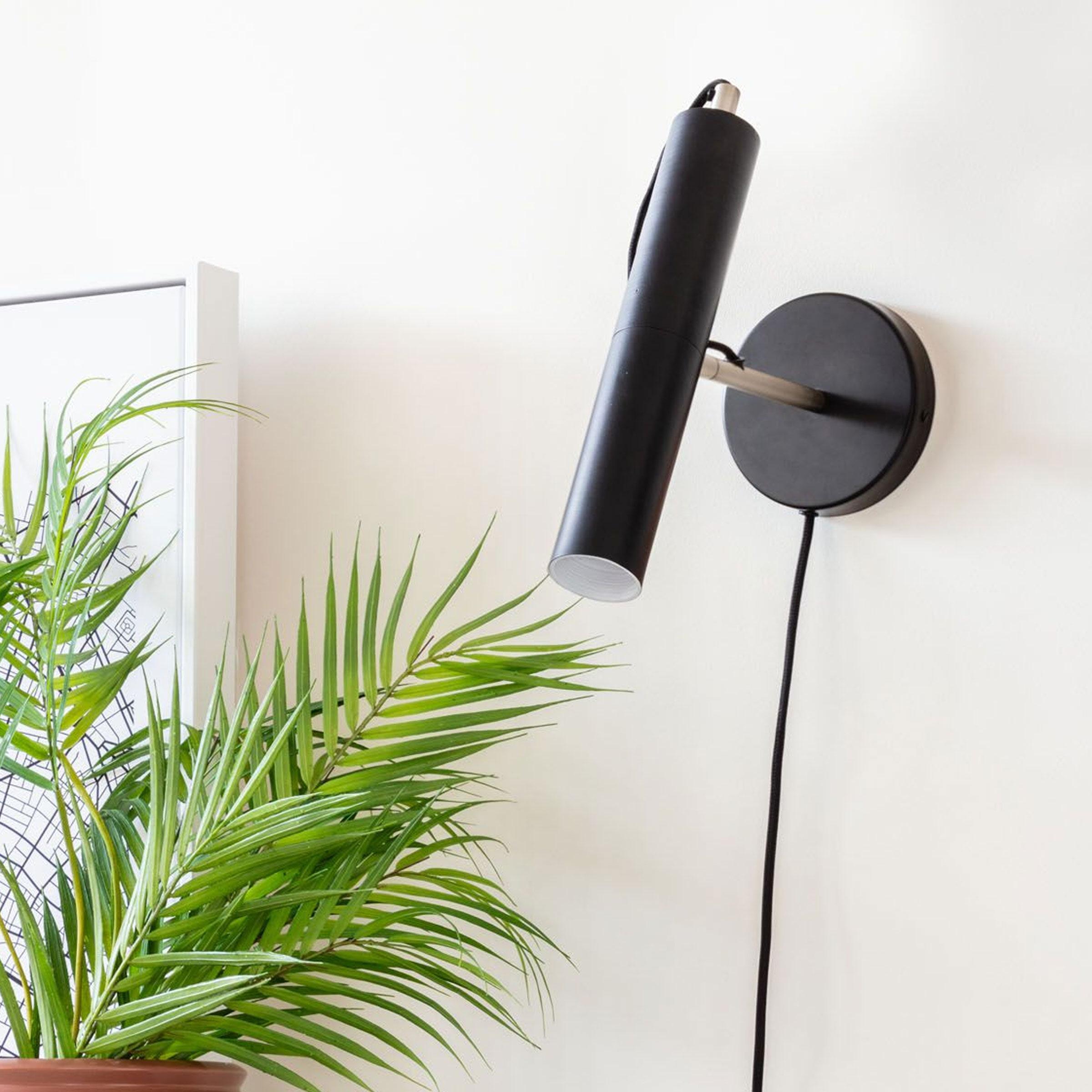 Kave Home Wandlamp 'Maude', kleur Zwart