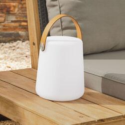 Kave Home Tafellamp 'Dialma', kleur Wit