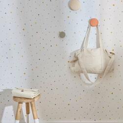 Kave Home Luiertas 'Krizia', 70 x 45cm, kleur Beige