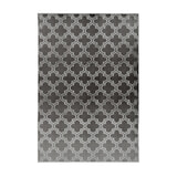 Kayoom Vloerkleed 'Monroe 100' kleur antraciet, 160 x 230cm